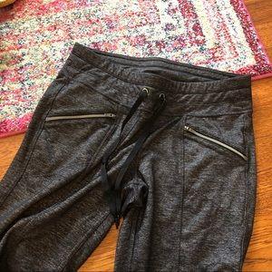 Athleta Pants - Athleta gray metro slouch Capri pants